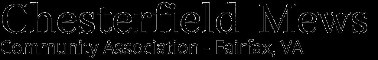 Chesterfield Mews Community Association- Fairfax, VA